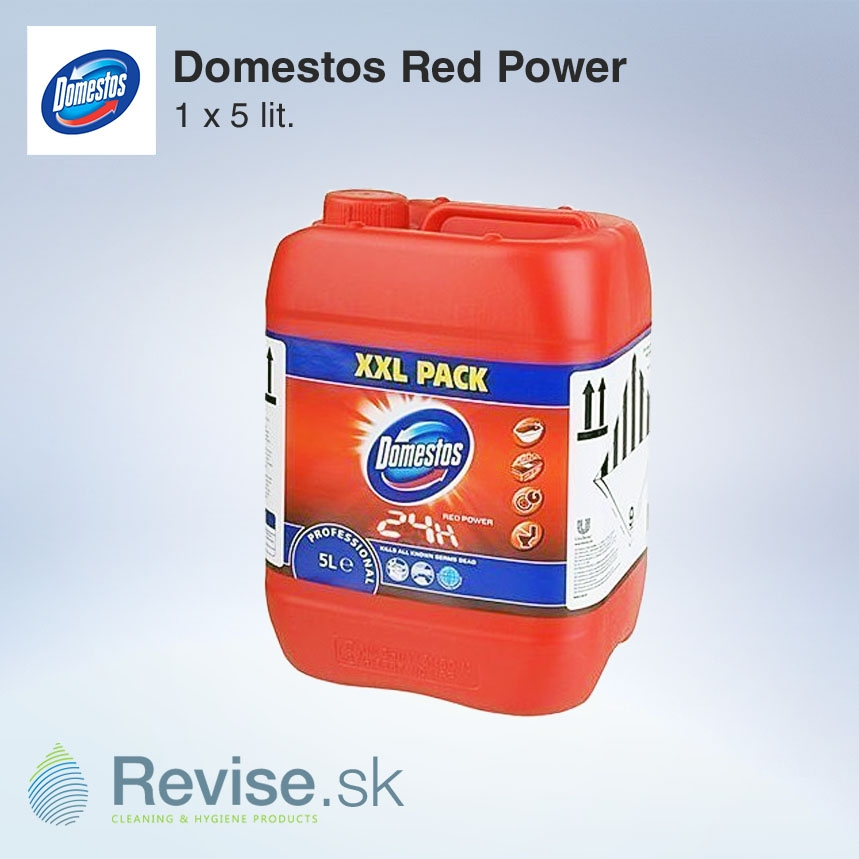 Domestos Red Power 1 x 5 l